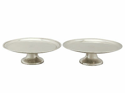 Antique Pair of Irish Sterling Silver Tazza George I (1719)