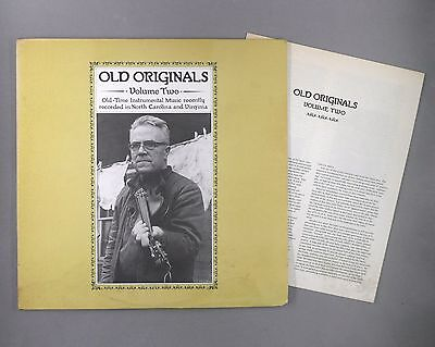 "Old Originals Volume Two - USA bluegrass - EX / EX - 12"" Vinyl - ROUNDER 0058"