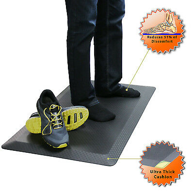 SAVE your Back!! Boost Industries OrthoMAT32 Anti-Fatigue Non-Slip Standing Mat