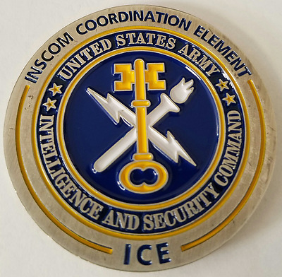 Army Intelligence & Security Command INSCOM Coordination Element ISA NSA OEF