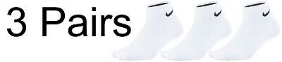 Nike Golf Dri Fit Crew & Quarter Length Socks - UK8 - UK11 - 3 Pack - FREE POST