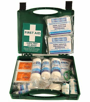 Qualicare HGV Vehicle Travel First Aid Kit Box - Passenger Carrying Vehicles