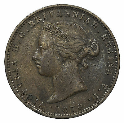 Jersey, Victoria 1/13Th Shilling, Channel Islands, 1870
