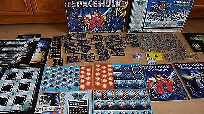 SPACE HULK - very rare 2nd edition NEW, 100% complete Games Workshop [ENG, 1996]