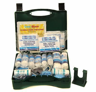 Qualicare First Aid Kit BSS8599 Compliant  - Small, Medium, Large - Box / Refill