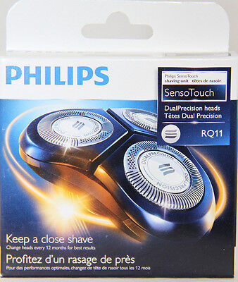 Philips RQ11/53 Sensotouch Shaving Head 1 Rotary Head System TAX INCLUDED