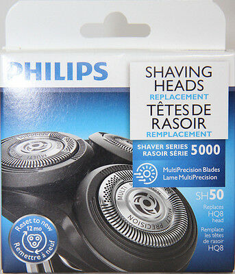 Philips SH50 Shaving Heads - Replaces HQ8 Head TAX INCLUDED
