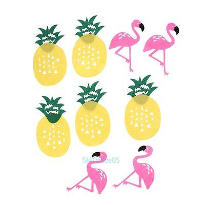 Flags Flamingo Pineapple Garland Bunting Banner Pennant Kid's Room Party Decor #