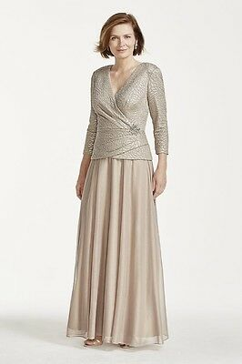 David's Bridal -Cachet  Mother of the Bride/Groom Dress Size 16 - NWT