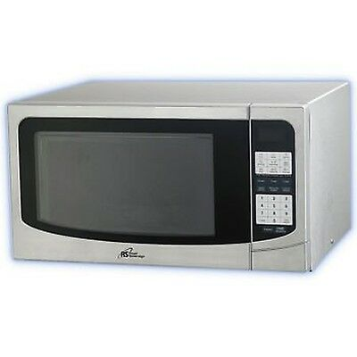 1.34cu Ft Microwave 1000w Silver W/Stainless Steel
