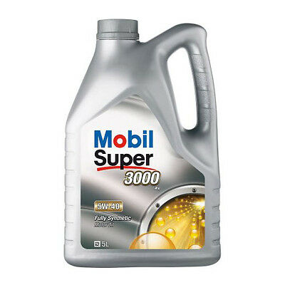 Mobil Super 3000 X1 5W-40 Synthetic Engine Oil 5 Litre