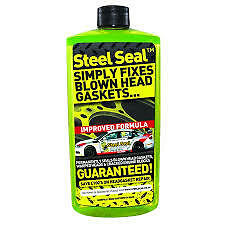 Steel Seal Head Gasket engine block Repair x 2 Bottles