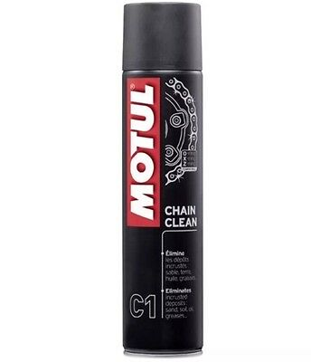 Motul Chain Clean C1 Pulitore Spray Per Catena (400ml)