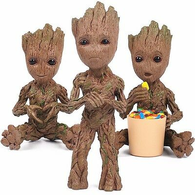 Guardians of The Galaxy Vol. 2 Baby Groot Resin Figure Gift Toy New with Box