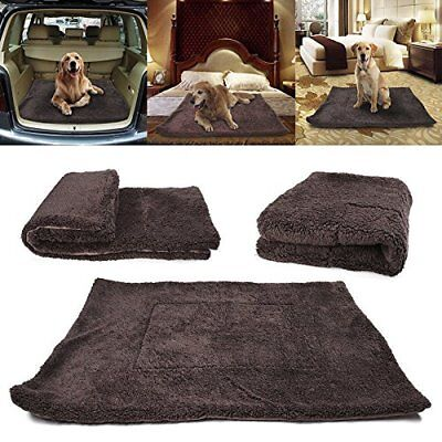 Waterproof Warm Soft Fleece Pet Blanket Large Cat Dog Kennel Bed Mat Pad Cushion
