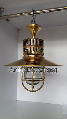 Nautical Light Marine Ship Brass Passage celling Light Retro Vintage lot of 3 Pc