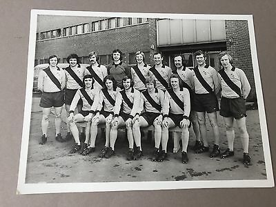 MOTHERWELL FC 1970's  signed photo  6.5 x 8.5  autographs Football