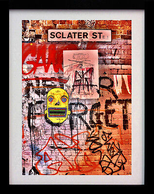 Sclater Street London Shoreditch A3 Wall Art Print - Limited Edition Of 100