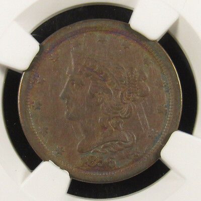 1856 Half Cent C-1 NGC XF40BN Stack's Collection (019)