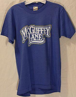 McGuffey Lane Authentic Late 1970's or Early 80's Vintage Tour Concert T-Shirt