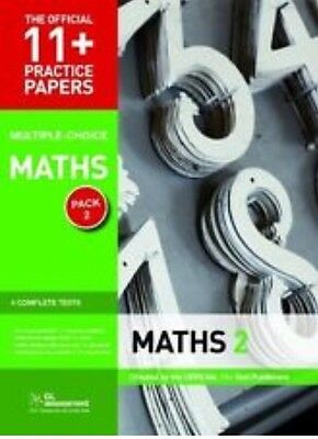 11+ Practice Papers Maths Pack 2 GL Assessment Tests 5 6 7 8 9780708720479