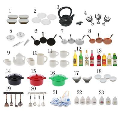 1/12 Dollhouse Miniatures Kitchen Ware Food/Accessories Doll House Ornament