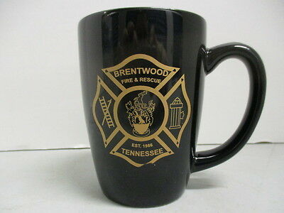 Brentwood Fire & Rescue, Tennessee, Est. 1986, Coffee Cup