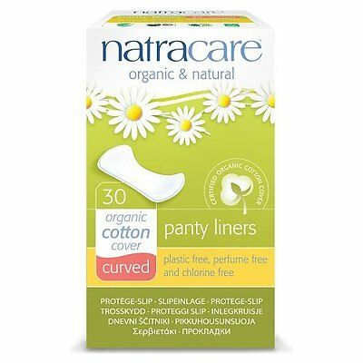 Natracare Organic curvo Panty Liners -Pack di 30 (z6t)