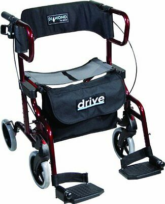 Drive Medical 745R Diamond Deluxe - Sedia a rotelle (F7q)