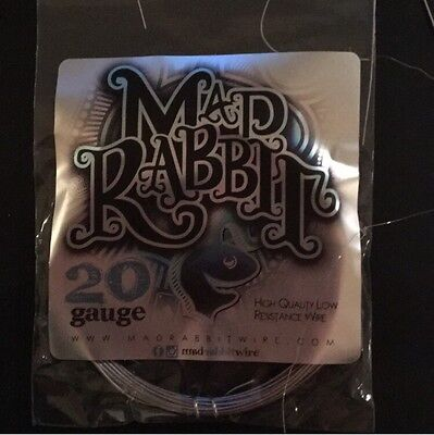 20g Mad Rabbit Low Resistance Competition Wire -20ft (Clapton, Parallel, Twisted