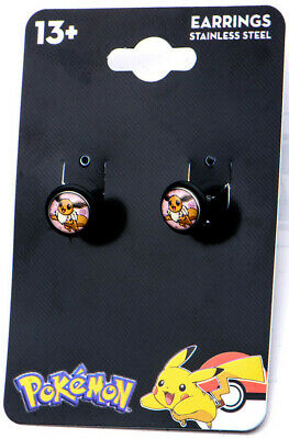 Pokemon Earrings Eevee 18g Faux Plug  - BRAND NEW