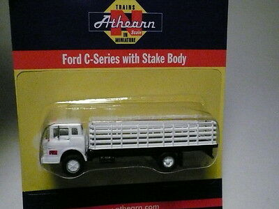 """Athearn """"N"""" Pacific Fruit Express PFE Ford 'C' Series Stake Bed 1:160 (2 PHOTOS)"""