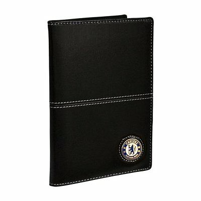 Chelsea FC Executive Golf Scorecard Holder - Nero/Bianco (d7D)