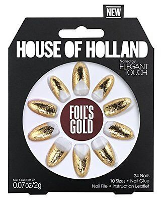 Elegant Touch House of Holland unghie – Foils Gold (H2F)