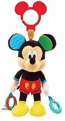 Disney Baby Activity Toy Stroller Kid Toddler Bead Rattle Teethers Mickey Mouse