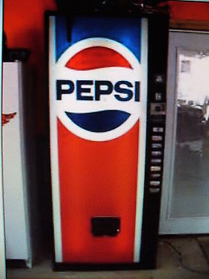 Pepsi Dixie Narco Pop Soda Machine-2 Years Fully Guaranteed