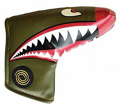 Odyssey Fighter Plane Putter Headcover Blade Blade (O0D)