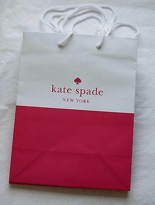 *NEW* Set of 20 Kate Spade New York Paper Shopping Gift Bag Bags 7.75 x 9.75