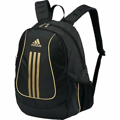 ADIDAS Soccer Ball Backpack Shoes Bag ADP18BKG Black/Gold Free shipping NEW