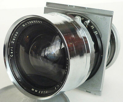 Carl Zeiss LINHOF Selected BIOGON 53mm f/4.5 LARGE FORMAT LENS for Technika 6x9