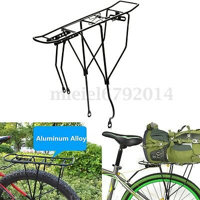 Bicycle Cycling Bike V-Brake Rear Rack Pannier Carrier Seatpost Mount Quick NEW