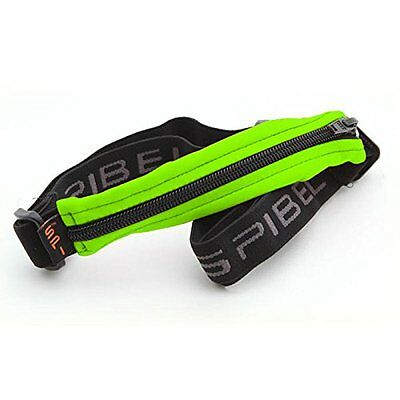 Spibelt Original Basic with Black Zipper Marsupio da corsa, Lime, S-XL (j1e)