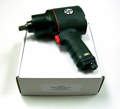 """Air/pneumatic Impact Wrench 1/2"""" Dve Composite Twin Hammer #pt4033P"""