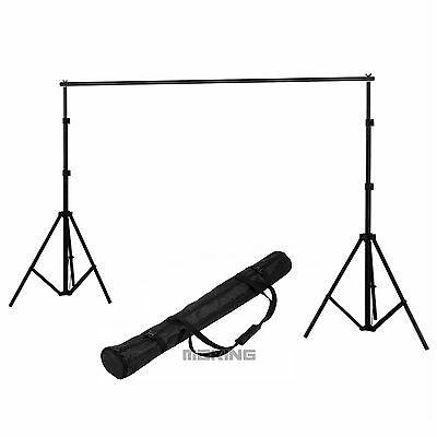 2x2m Photography Studio Backdrop Background Support System Set Stand Crossbar