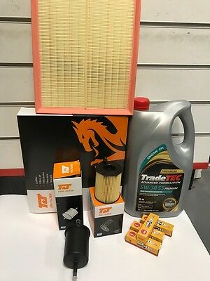 Vaux Corsa C 1.2 2000-6 Full Service Kit Air Oil Fuel Filter And 4 Plugs And Oil