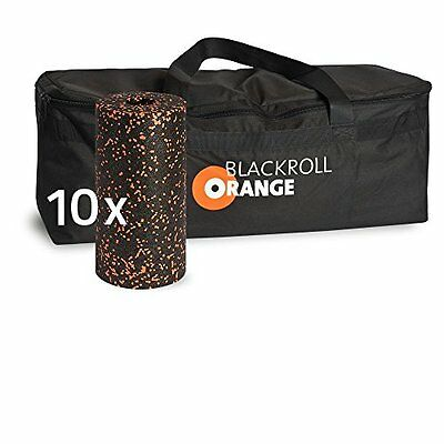 blackroll-orange Trainer Bag Sport Custodia Incl. 10 faszienrollen (C3e)