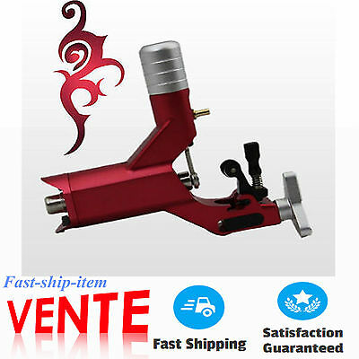 tatouage Rotary Motor machine/Tattoo Professionnelle Gun for Liner & Shader red