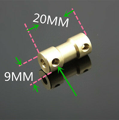 Motor Drive Bass Shaft Coupling Coupler Connector Sleeve 2/2.3/3/3.17/4/5/6mm
