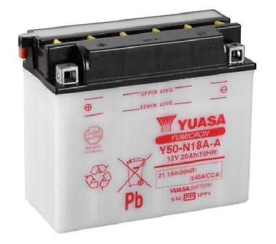 Genuine Yuasa Y50-N18A-A Motorbike Motorcycle 12V Battery