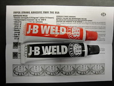 Jb Weld Worlds Finest Cold Weld (2 X 28.4G) Non Carded